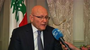 """""""L'armée libanaise est exceptionnellement déterminée à défendre le pays"""", selon le Premier ministre libanais Tammam Salam."""