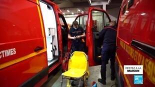 2020-04-14 07:05 Covid-19 : les pompiers de Nancy à l'épreuve du virus
