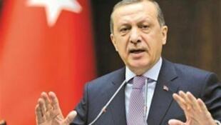 الرئيس التركي رجب طيب ردوغان