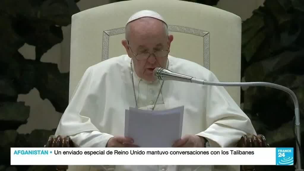 """2021-10-06 19:05 El papa Francisco asegura que este es """"el momento de la vergüenza"""" para la Iglesia católica"""