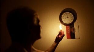 انقطاع الكهرباء في سيمفروبول عاصمة القرم في 26 كانون الأول/ديسمبر 2014