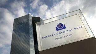 Le siège de la BCE à Francfort le 13 décembre 2018