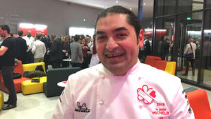 Le chef franco-libanais Alan Geaam est récompensé d'une étoile au Michelin.