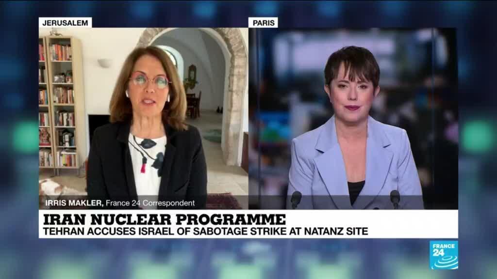 2021-04-12 11:01 Iran blames Israel for sabotage at Natanz nuclear site