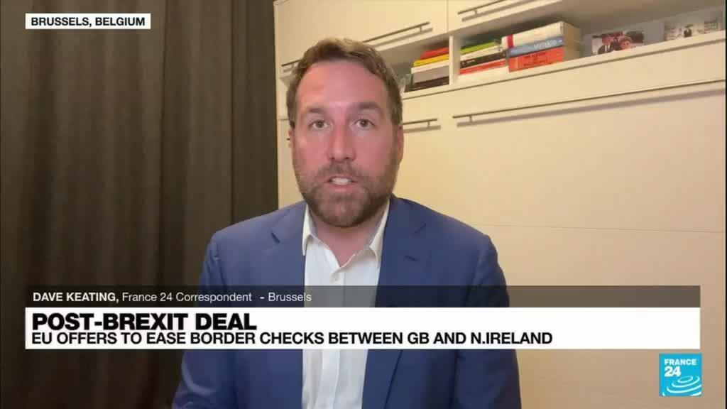 2021-10-14 08:34 EU proposes easing controls on British trade to Northern Ireland