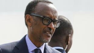 Le président rwandais Paul Kagame, lors du sommet de la francophonie à Erevan, le 12 octobre 2018.
