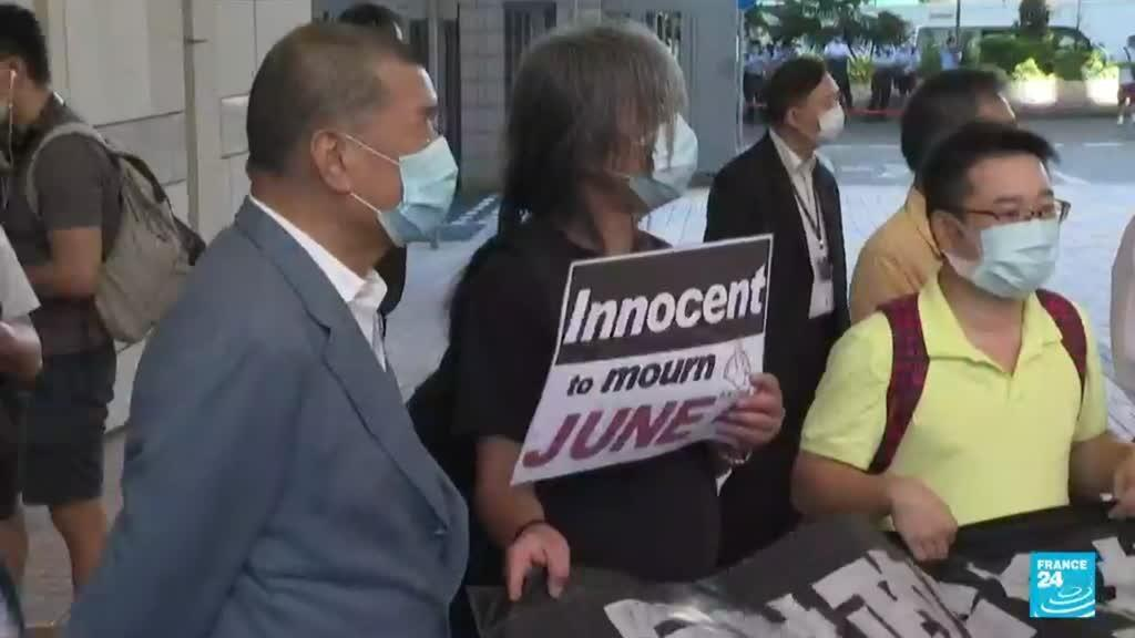 2021-07-27 13:05 First person charged under HK security law found guilty of terrorism, inciting secession
