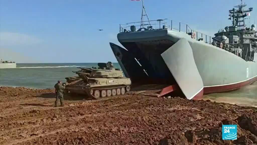 2021-04-24 01:04 Rusia inició retiro de tropas de la frontera con Ucrania