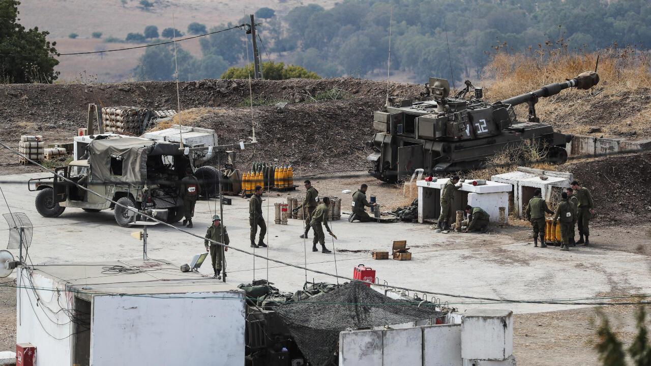 israel libano bombardeos