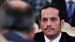 """Le ministre qatari des Affaires étrangères fait une tournée des pays """"alliés et amis"""" en réaction à la crise diplomatique avec les pays du Golfe."""