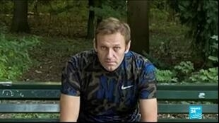 2020-09-23 16:12 Russia's Navalny released from German hospital after 32 days