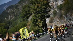 Tour de France montagne col loze