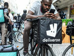 French Deliveroo drivers strike over pay dispute