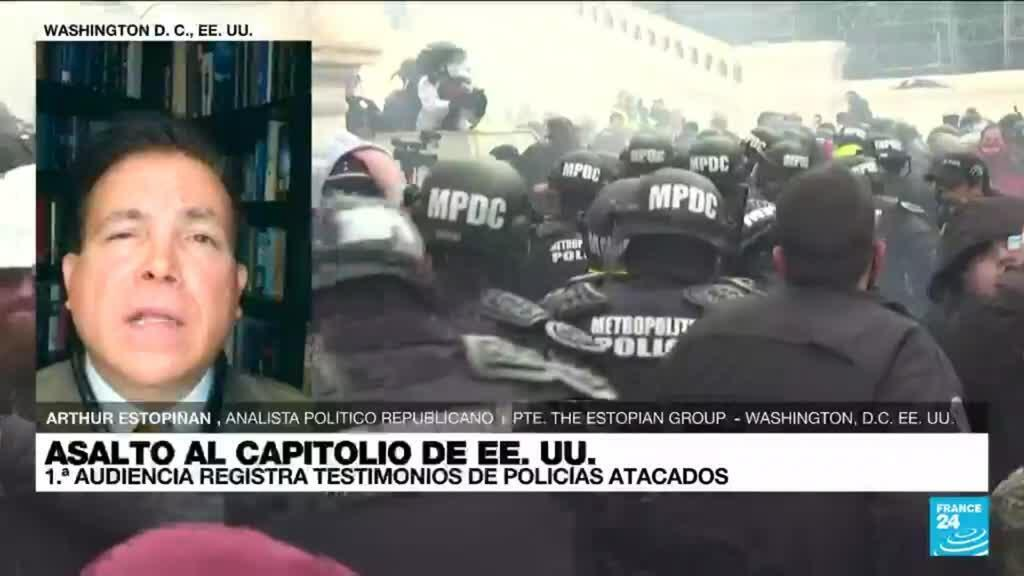 """2021-07-28 02:02 Arthur Estopiñan: """"La violencia del 6 de enero en el Capitolio de EE. UU. no es aceptable"""""""