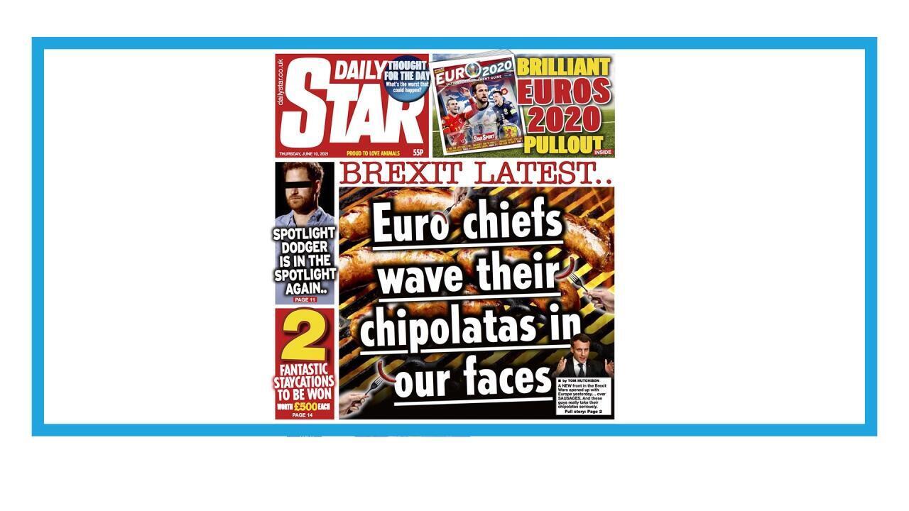 """La """"guerre de la saucisse"""" entre le Royaume-Uni et l'Union européenne"""