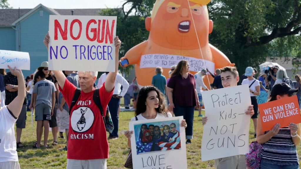 Image result for trump visit Dayton Ohio