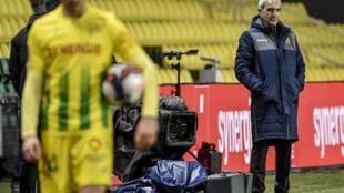 Nantes failed to win a single match under Domenech