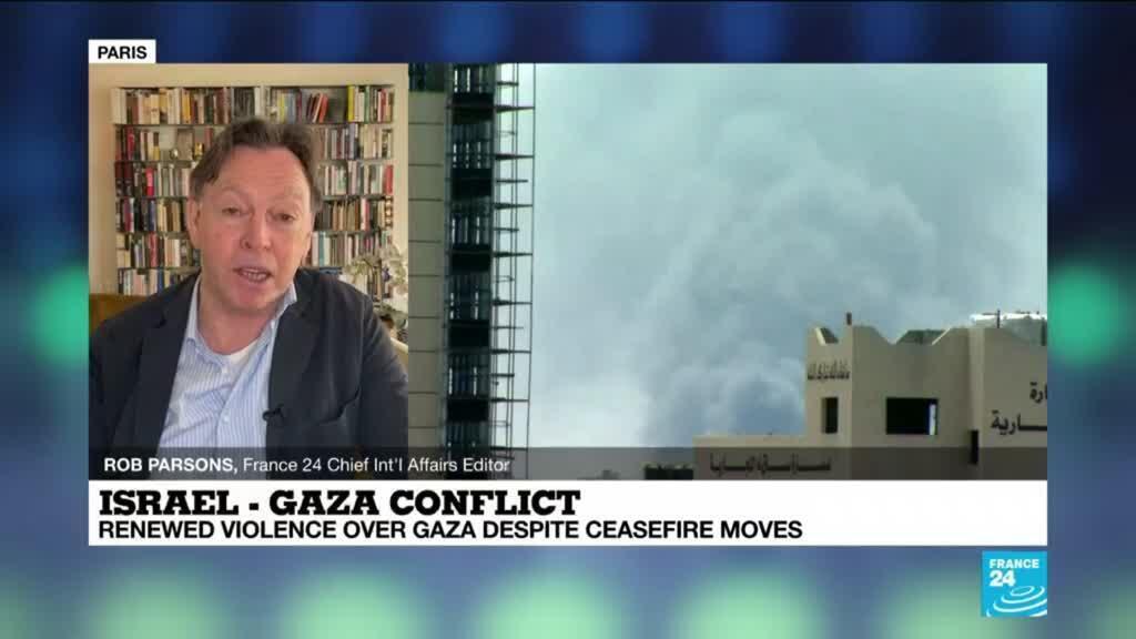 2021-05-20 14:03 Renewed violence over Gaza despite ceasefire moves gaining speed
