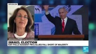 2021-03-24 08:02 No clear winner in Israeli election, signaling more deadlock