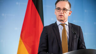 German Foreign Minister Heiko Maas addresses a news conference on June 5, 2020, at the Foreign Office in Berlin.