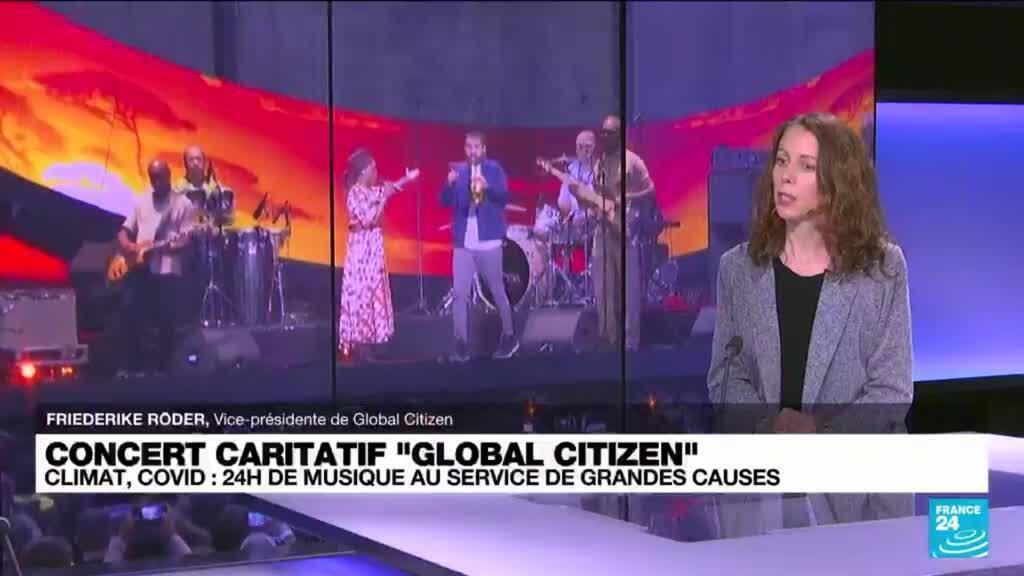 2021-09-26 12:04 Global Citizen : 24h de concerts aux 4 coins du monde pour la planète