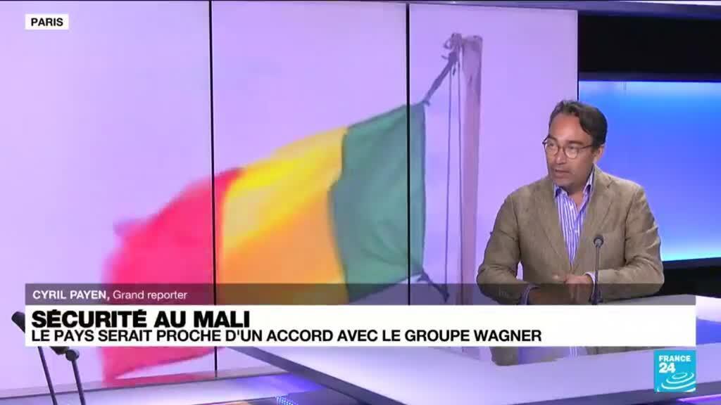 2021-09-14 14:09 Sécurité au Mali : le pays serait proche d'un accord avec le groupe russe Wagner