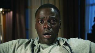 """Daniel Kaluuya, acteur principal du film d'horreur """"Get Out"""" de Jordan Peele sorti en 2017."""