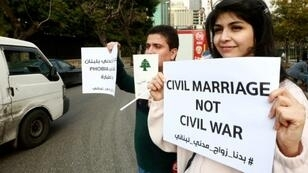 Many Lebanese couples travel to neighbouring Cyprus to tie the knot in a civil ceremony