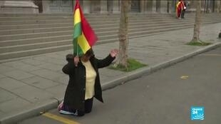 2019-11-11 16:04 Bolivians react to the resignation of President Evo Morales