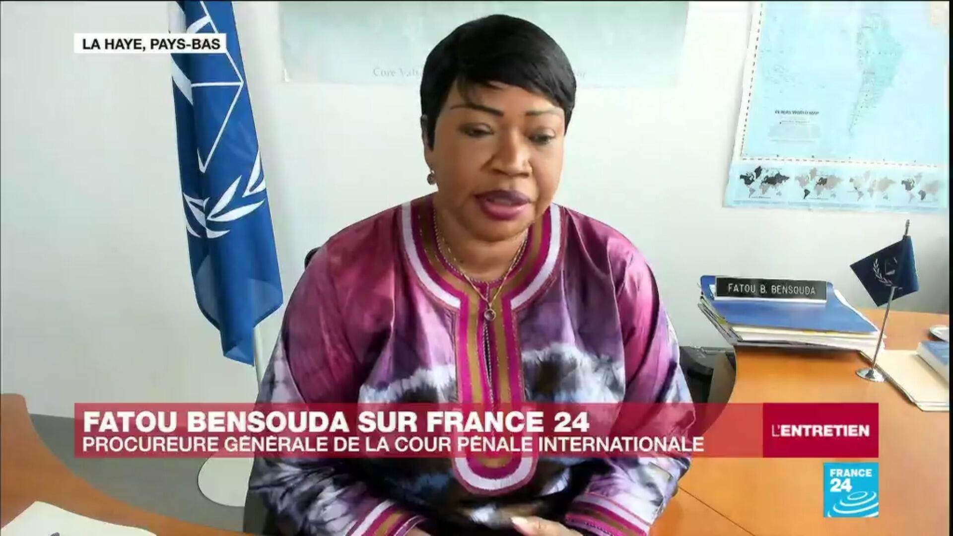 Fatou Bensouda, procureure générale de la Cour pénale internationale à La Haye.