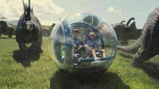 """""""Jurassic World"""" a récolté plus d'un demi-milliard de dollars en un week-end."""