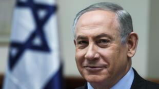 Le Premier ministre israélien Benjamin Netanyahou, le 19 février 2017 à Jérusalem.