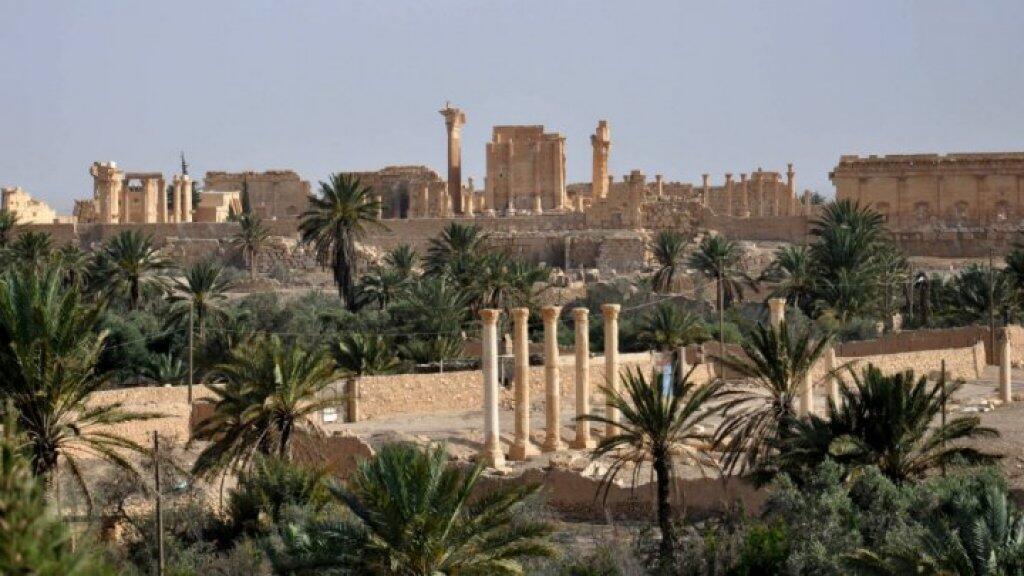 آثار مدينة تدمر المدرجة على لائحة التراث العالمي