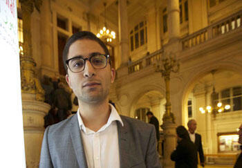 """Rezan Sedik, étudiant en droit, issu du """"Kurdistan d'Auvergne""""."""