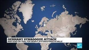 2020-07-21 10:07 Analysis: German synagogue attack highlights 'gamification' of terrorism