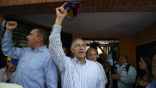 Le maire de Caracas, Antonio Ledezma, est l'une des figures de l'opposition à Nicolas Maduro.