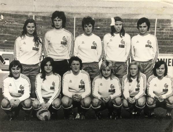 L'équipe de France en 1975