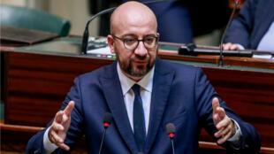 Charles Michel perdió el apoyo de los independentistas flamencos tras apoyar el Pacto migratorio de la ONU.
