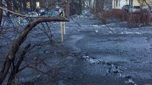 Snow laced with coal dust this month coated three towns in Siberia's industrial Kemerovo region