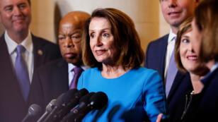 """""""Estamos en buena forma pera enero"""", dijo este miércoles la legisladora demócrata."""