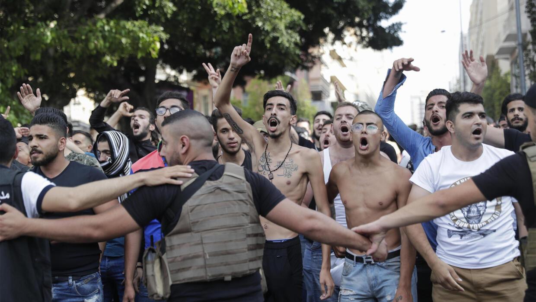 Hundreds of anti-government protesters flood Beirut afresh - France 24