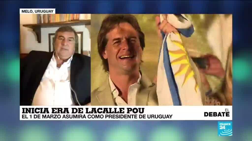 El debate Luis Lacalle Pou