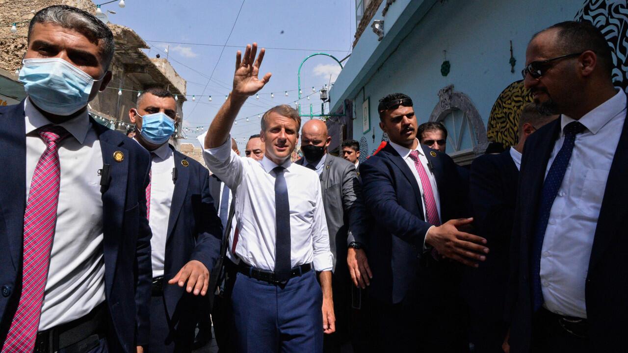 Macron Irak