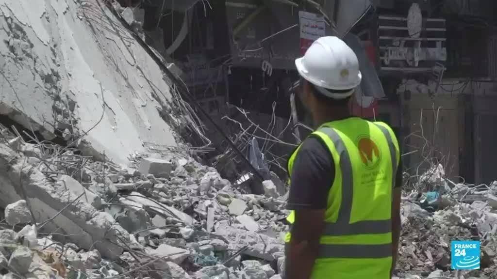 2021-08-26 14:36 Gaza lucha por reconstruirse a tres meses de una guerra relámpago entre Israel y Hamas