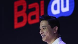 Robin Li, fondateur et PDG de Baidu en juillet 2019 à Pékiin