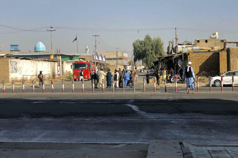 Kandahar mosque blast
