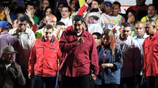 Nicolás Maduro logró la mayoría de los votos para asumir el período presidencial 2019-2025. Mayo 20 de 2018.