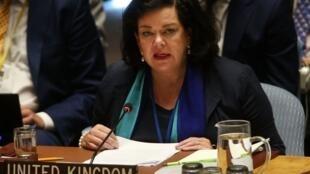 السفيرة البريطانية لدى الأمم المتحدة كارن بيرس