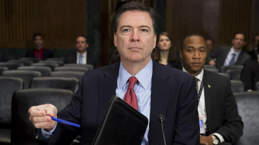 Le directeur du FBI James Comey lors d'une audition au Congrès, le 9 décembre 2015.
