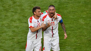 Le défenseur Aleksandar Kolarov a inscrit le seul but de la rencontre pour offrir la victoire à la Serbie.